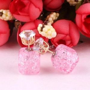 💖Pink Crush Candy Double-Side Earrings💖
